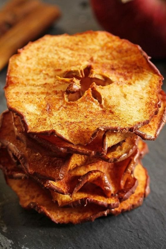 Weight Watchers Baked Apple Chips