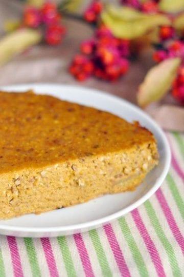 Weight Watchers Crustless Pumpkin Pie