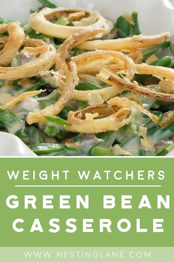 Weight Watchers Green Bean Casserole