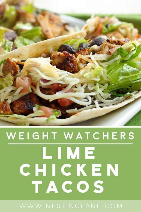 Weight Watchers Lime Chicken Tacos