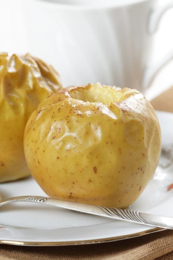 Weight Watchers Microwave Baked Apples