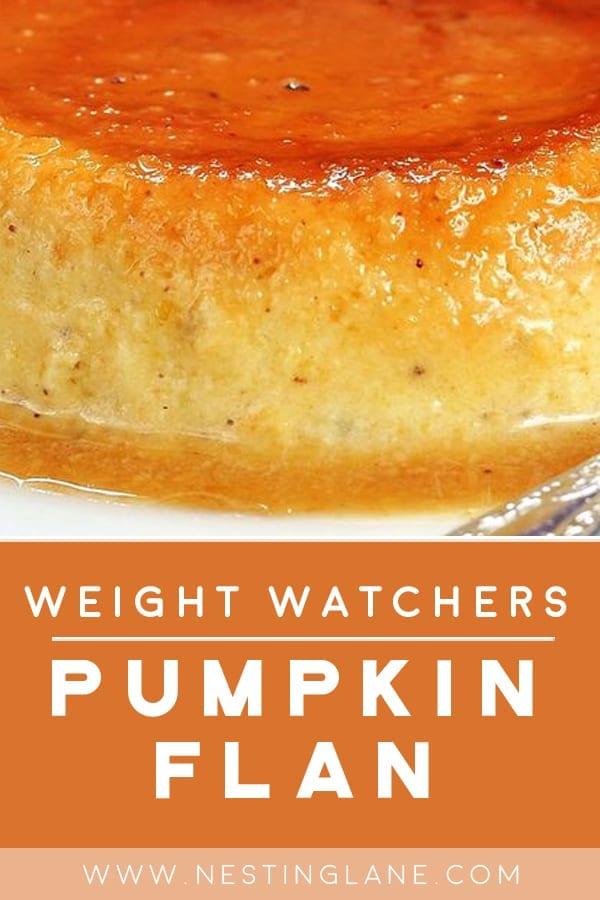 Weight Watchers Pumpkin Flan