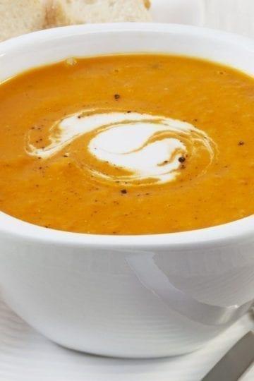 Weight Watchers Pumpkin Black Bean Soup