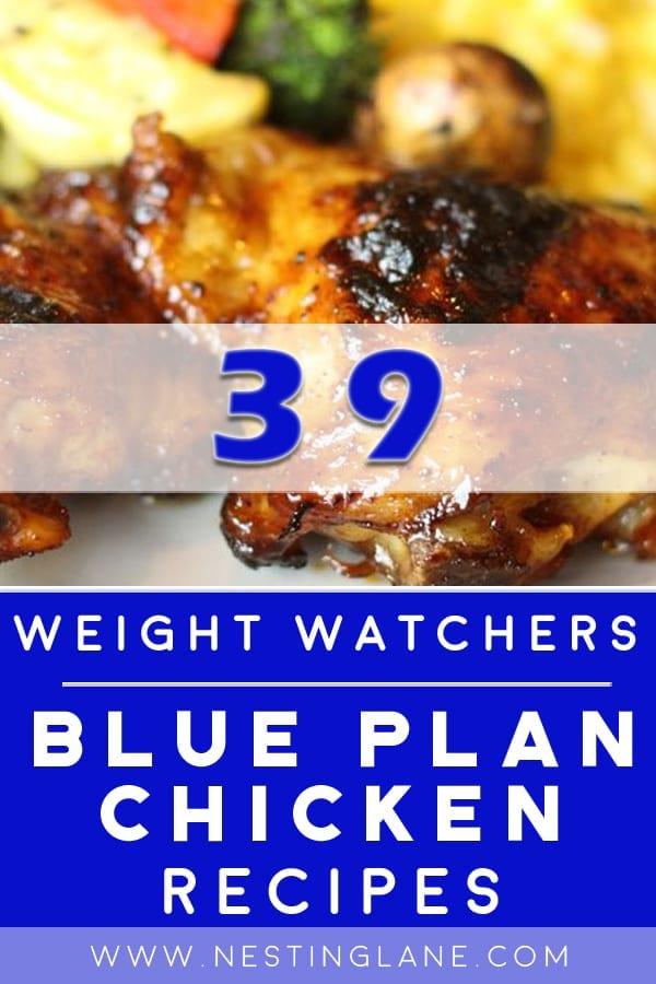 WW Blue Plan Chicken Recipes