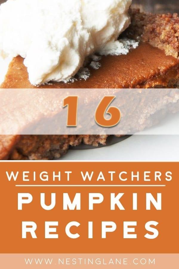 16 Weight Watchers Pumpkin Recipes