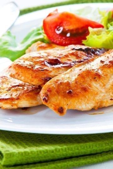 Weight Watchers Garlic Chicken