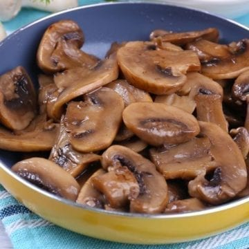 Skillet Soy Sauce Mushrooms with Weight Watchers Points