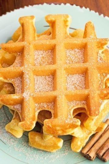 Weight Watchers Pumpkin Waffles