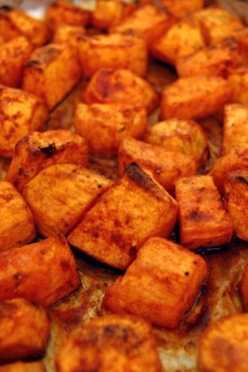 Weight Watchers Roasted Sweet Potatoes