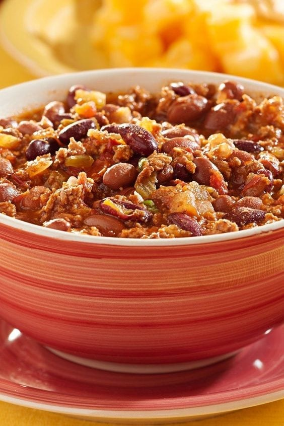 Weight Watchers Slow Cooker Chili