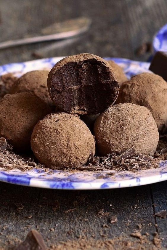 Weight Watchers Dark Chocolate Truffles