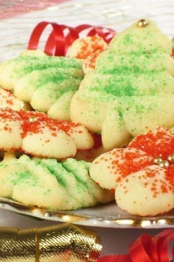 Weight Watchers Spritz Butter Cookies