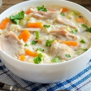 Weight Watchers Thanksgiving Leftover Soup