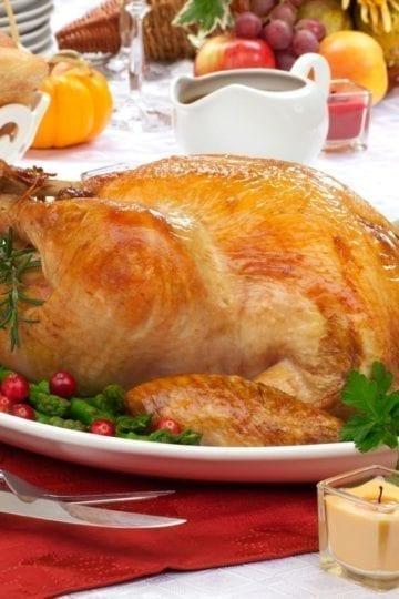 Weight Watchers Grilled Whole Turkey