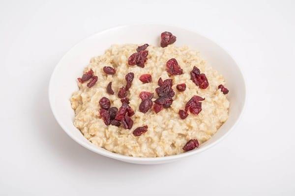 Weight Watchers Applesauce Cranberry Oatmeal Breakfast