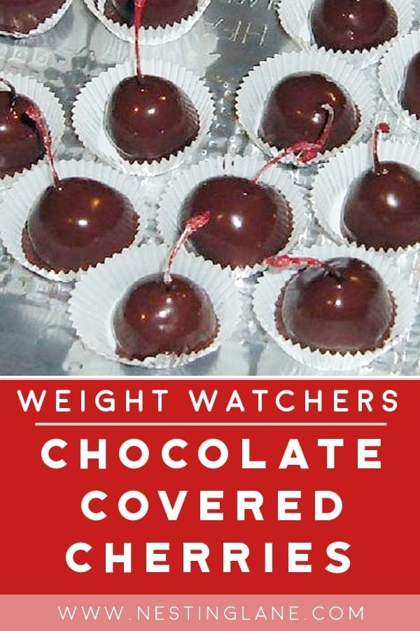 Chocolate Covered Cherries Recipe with Weight Watchers Points