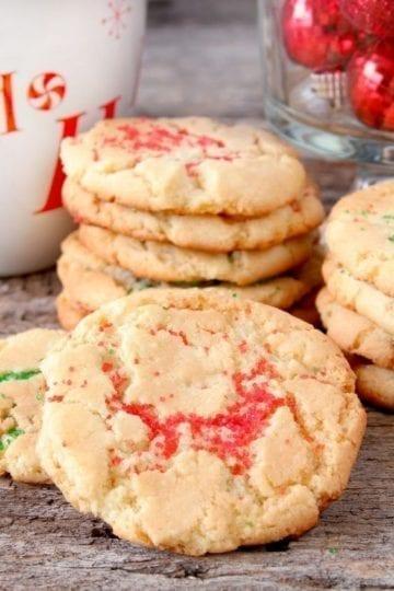 Weight Watchers Christmas Eggnog Cookies