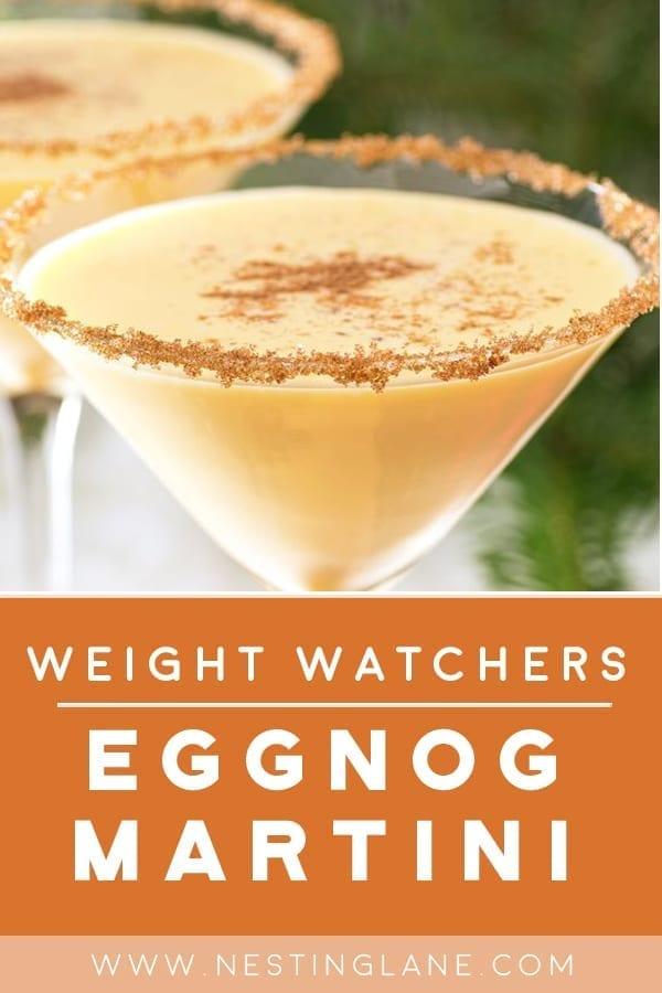 Weight Watchers Eggnog Martini