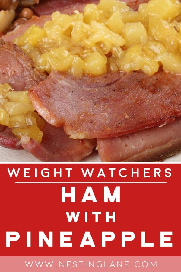 Weight Watchers Ham with Pineapple