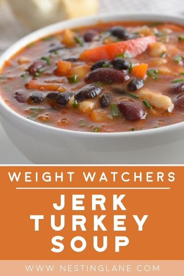 Weight Watchers Slow Cooker Jerk Turkey Soup