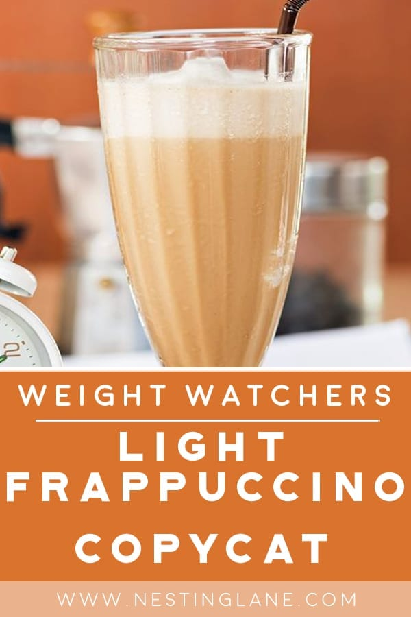 Weight Watchers Light Frappuccino Starbucks Copycat