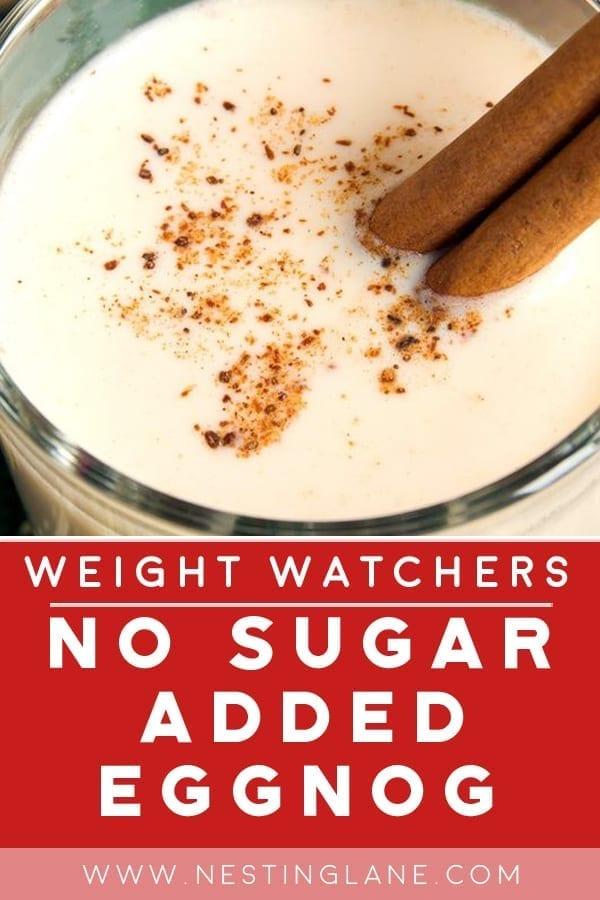Weight Watchers No-Sugar-Added Eggnog