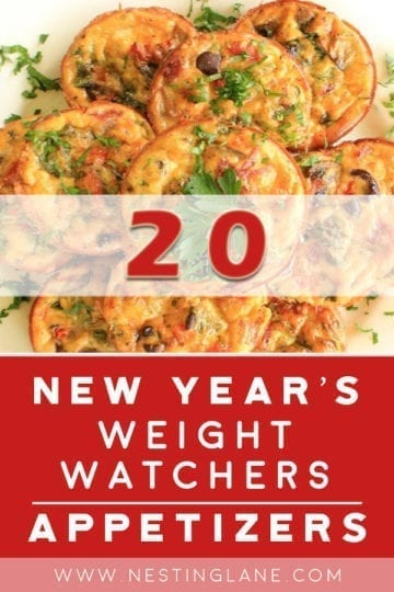 20 Weight Watchers Appetizer Recipes for New Year's Eve
