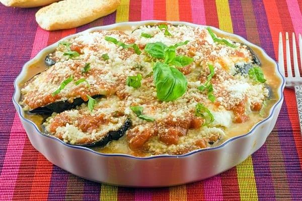 Weight Watchers Eggplant Parmigiana