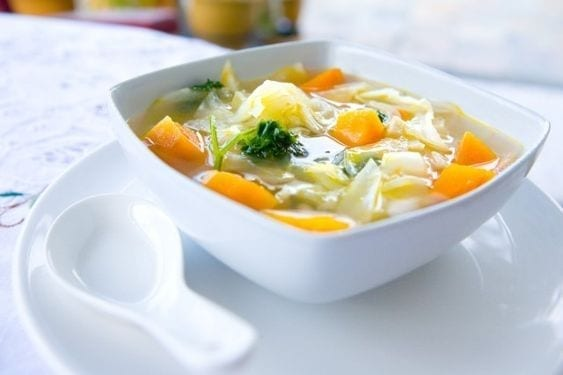 Weight Watchers Healthy Vegetable Soup