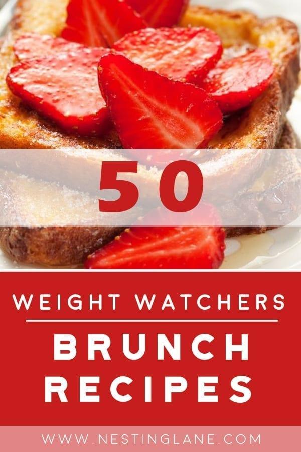 50 Weight Watchers Brunch Recipes