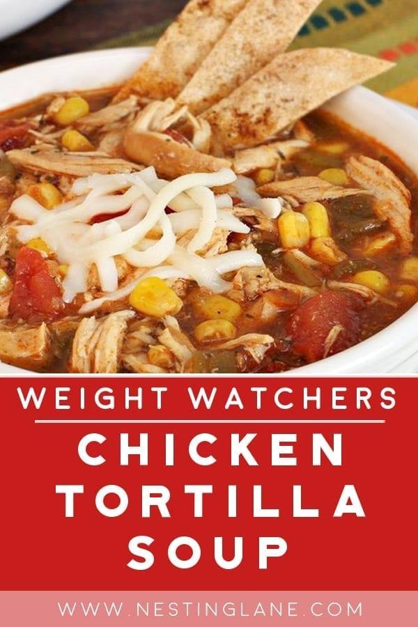 Weight Watchers Chicken Tortilla Soup