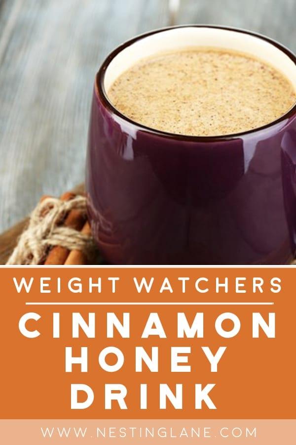 Weight Watchers Nighttime Cinnamon Honey Milk
