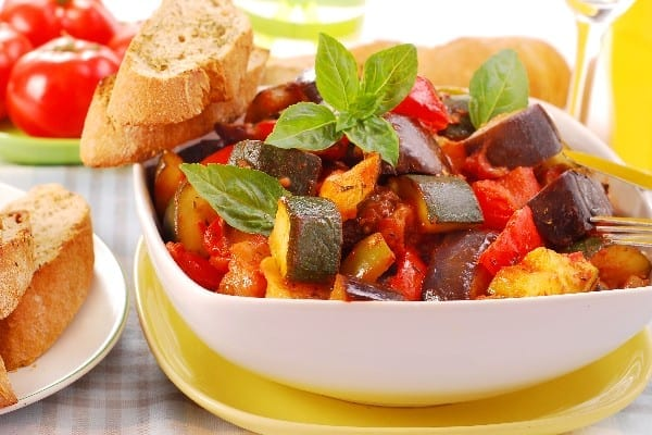 Weight Watchers Slow Cooker Vegetarian Ratatouille