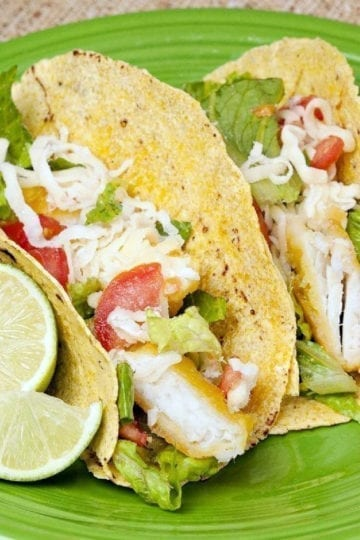 Weight Watchers Fish Tacos