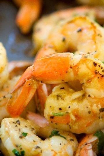 Weight Watchers Grilled Garlic Herb Shrimp