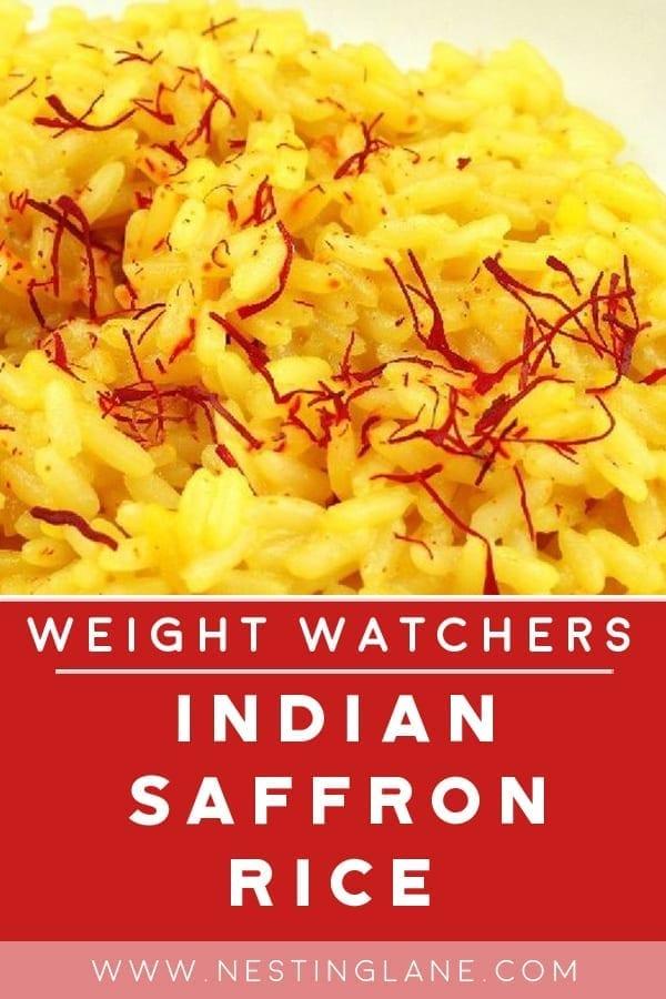 Weight Watchers Saffron Rice