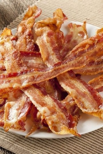 Weight Watchers Baked Bacon