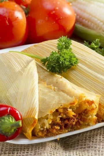 Homemade Tamales with Weight Watchers Points