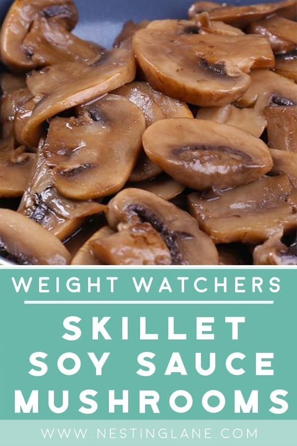 Skillet Soy Sauce Mushrooms with Weight Watchers Points Recipe
