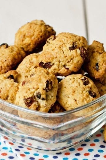 Weight Watchers Trail Mix Cookies