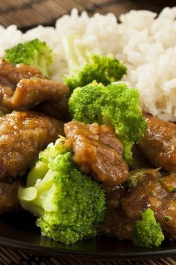 Healthy Beef and Broccoli Stir-fry with Weight Watchers Points