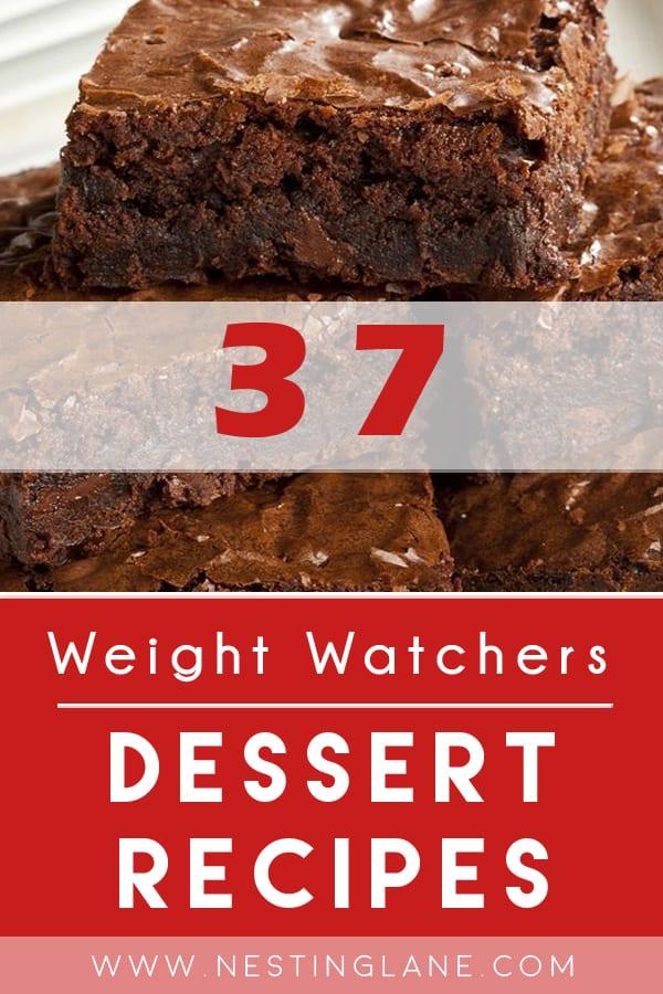 37 Weight Watchers Dessert Recipes