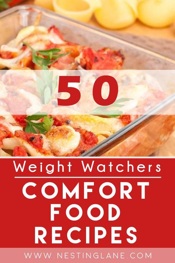 Weight Watchers Comfort Food Recipes