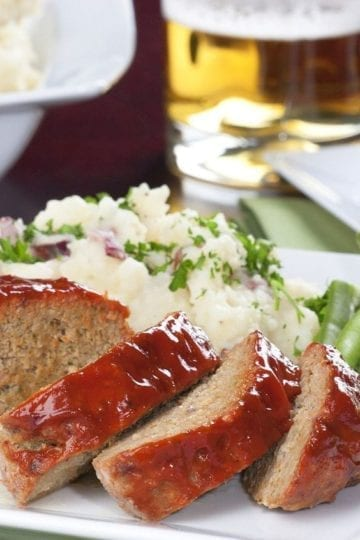Weight Watchers Barbecue Meatloaf