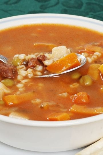 Weight Watchers Beef and Barley Soup