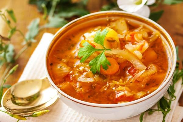 Weight Watchers Cabbage Fat Burning Soup