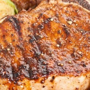 Weight Watchers Cajun Spiced Pork Chops