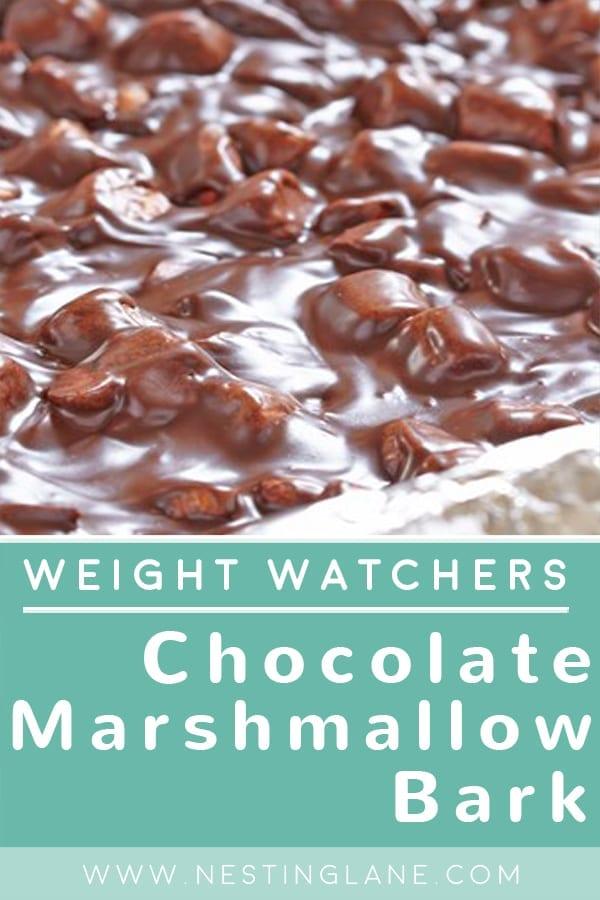 Weight Watchers Chocolate Marshmallow Bark