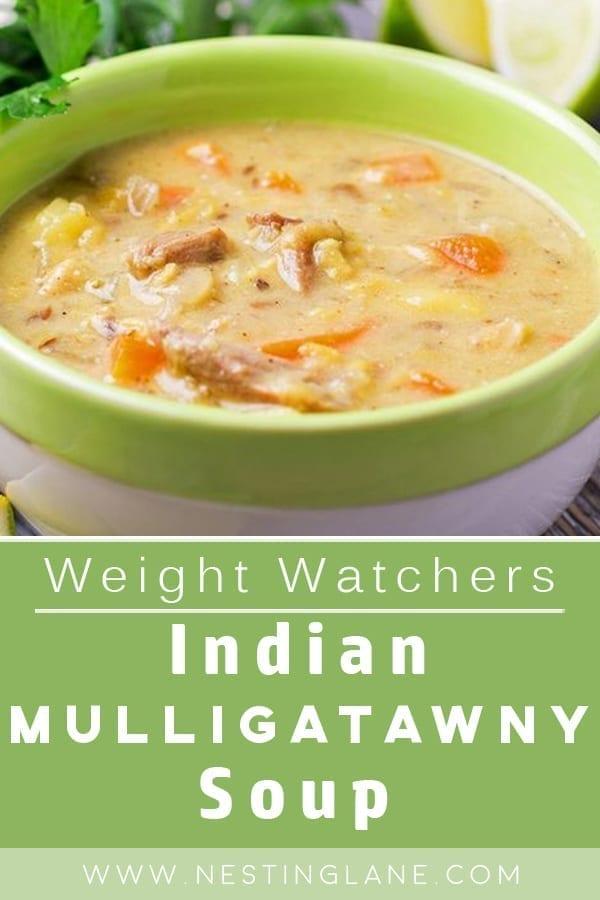 Weight Watchers Indian Mulligatawny Soup