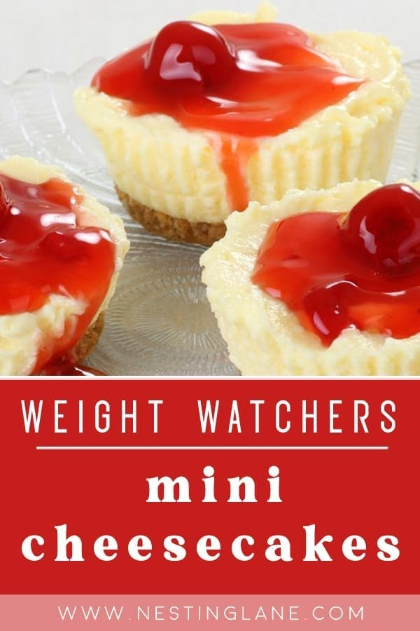 Weight Watchers Mini Cheesecakes